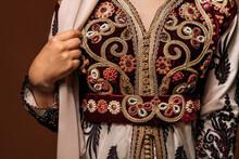 Detail Of Muslim Wedding Dress