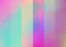 Holographic Gradient Stripes