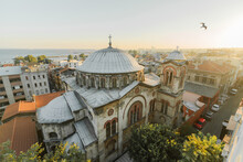 Scenic View Of Streets Of Istanbul Early In The Morning
