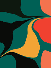 Bold Graphic Inspired By Summer Leaves
