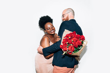 Man, Woman And Roses