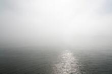 Ocean And Mist, Svalbard.