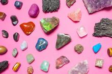 Collection Of Semi Precious Stones