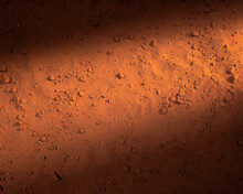 Mars Surface Red Sand