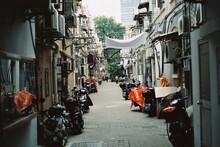 Narrow Streets In Shanghai