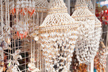 Chandeliers Shades Made Of Shells