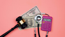 Medical Fraud And Scam Concept. Life Insurance Fraud