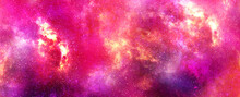 Deep Space Purple Violet Galaxy . Abstract Natural Backgrounds
