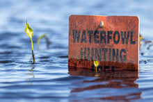 Waterfowl Hunting Sign