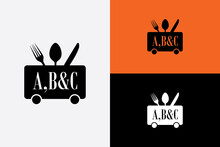 Letter A B C Logo For Restaurant And Food Court