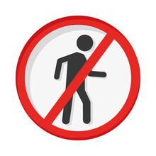 Dont Cross Pedestrian Signal