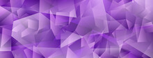 Abstract Crystal Background With Highlights And Refracting Of Light In Purple Colors