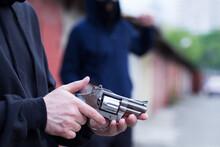Preparing For Gun Dueling With Gun Replica