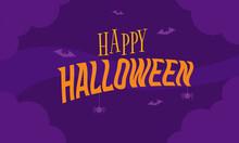 Vector Graphic Poster Of Happy Halloween