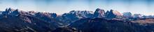 Blick Auf Die Dolomiten Bei Strahlendem Sonnenschein In Südtirol Italien Oberhalb Von Bozen