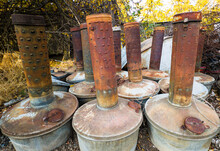 Old Rusty Container
