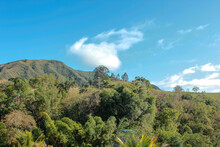 Landscape And Blue Sky
