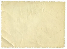 Retro Photo Paper Texture. Old Antique Sheet Paper Texture. Announcement Board. Recycle Vintage Paper Background. Aged And Yellowed Wallpaper.