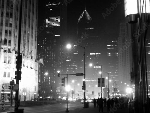 Fototapeta premium ziarniste miasto
