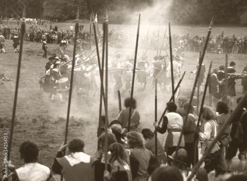 Fotografia english civil war battle