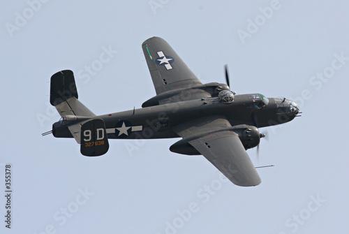 Vászonkép b-25 bomber in flight