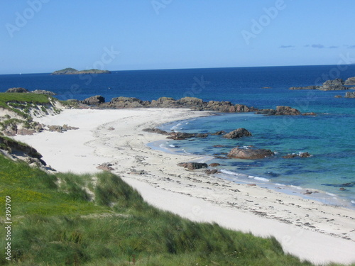 iona white sand beach Fototapeta