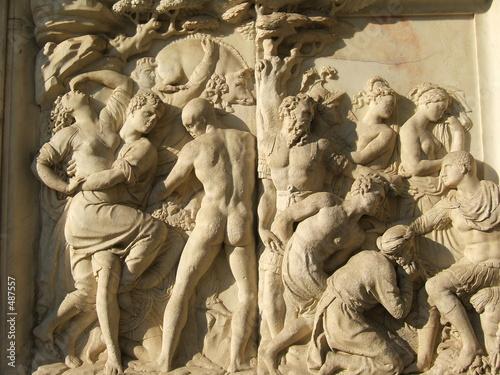 Canvastavla sculpture florentine