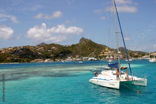 Fotografia catamaran  caraibes