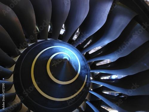 Canvas Print fan blades