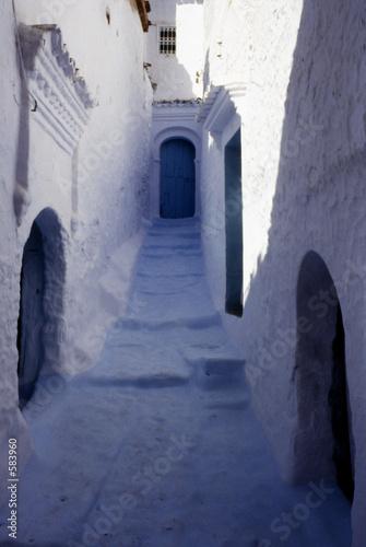 Canvas calle de la medina de chauem