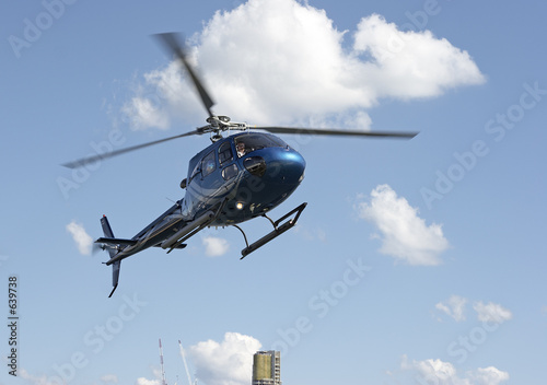 Carta da parati helicopter