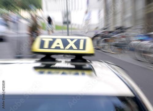 taxi Fototapet