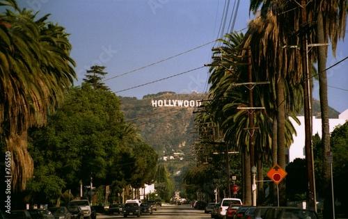 Fototapeta la hollywood