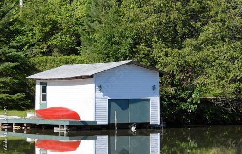 Wallpaper Mural boathouse