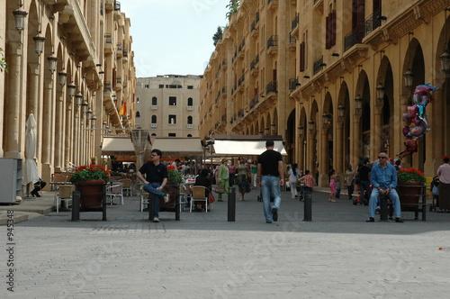 Fototapeta premium Star Square - Bejrut - Liban