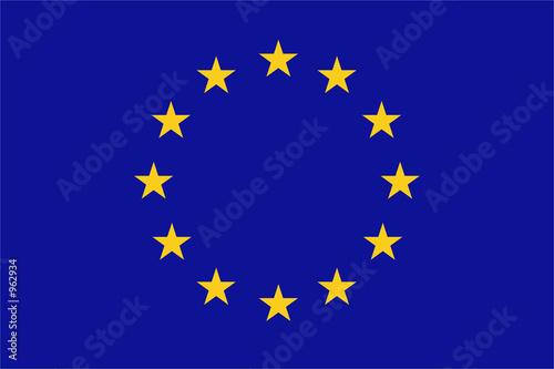 Canvas Print european union flag