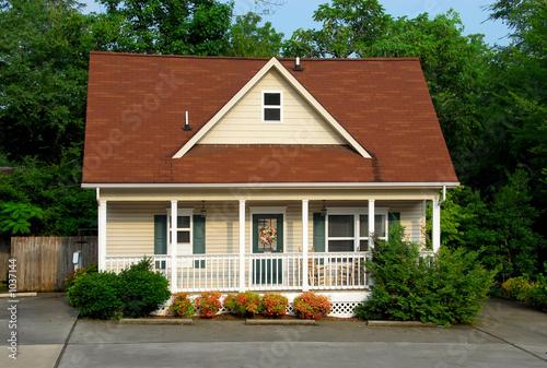 Obraz na plátne cottage in summer