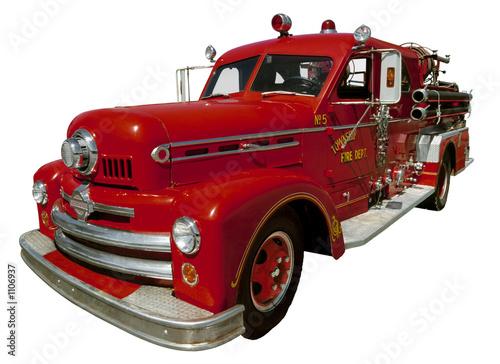Fotografia old firetruck