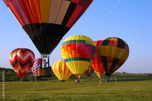 Photographie hot air balloon festival