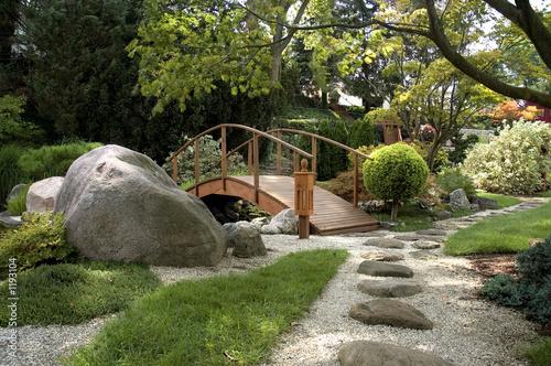 Fototapeta premium Japoński ogród