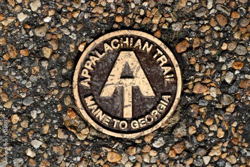 Fényképezés appalachian trail marker
