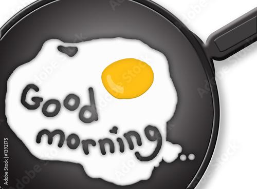 Fotografia, Obraz good morning eggs