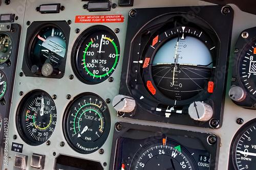 Cuadros en Lienzo cockpit
