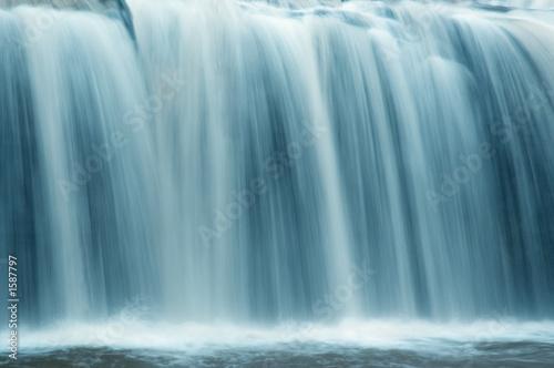 Obraz na plátně slow motion waterfall