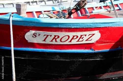 Fotografie, Obraz bateau saint tropez
