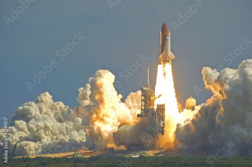 Canvas Print space shuttle