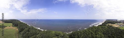 view from lighthouse - pogorzelica - poland #1816569