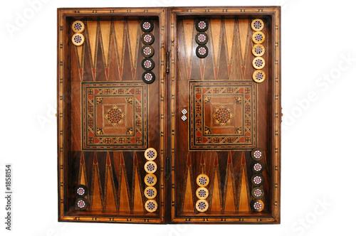 Murais de parede backgammon 3