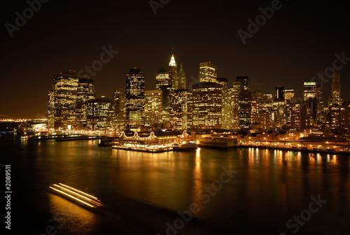 Fototapeta premium New York East River