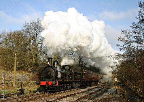 Obraz na płótnie historic steam train